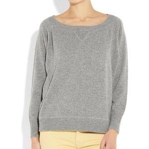 Jcrew cashmere pullover sweatshirt